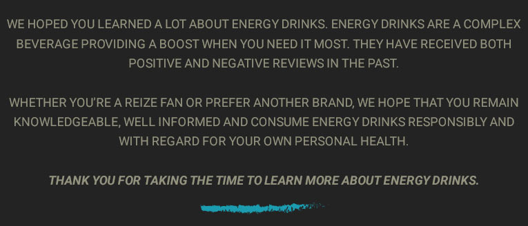 reize sugar free energy drinks