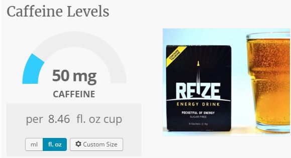 reize caffeine