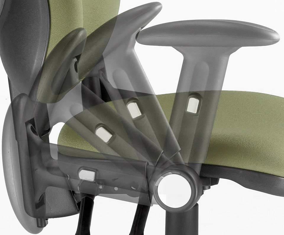 An armrest adjusting.