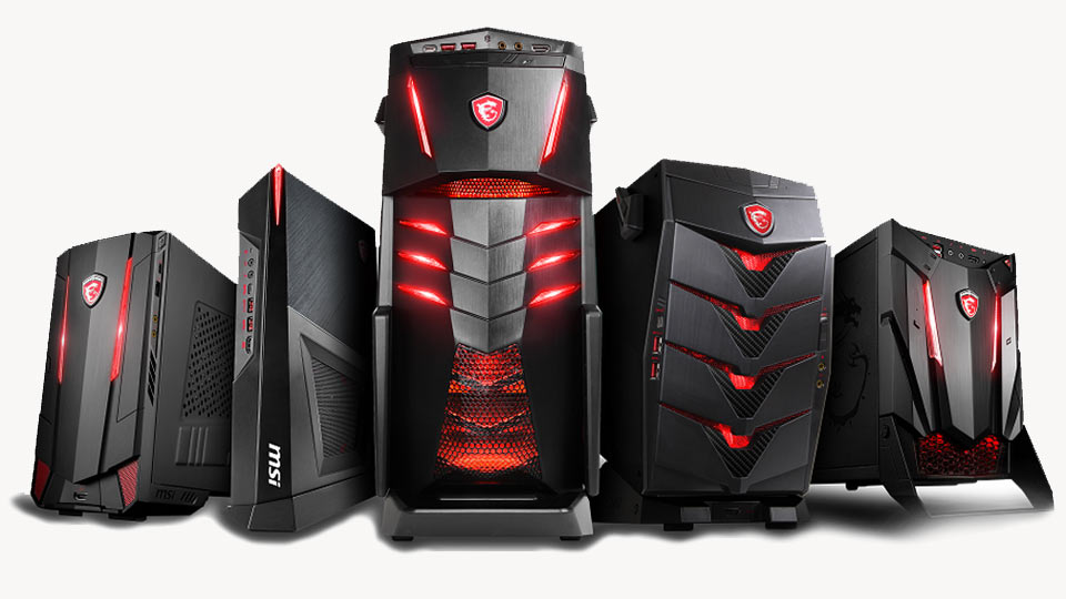5 MSI Gaming Computers