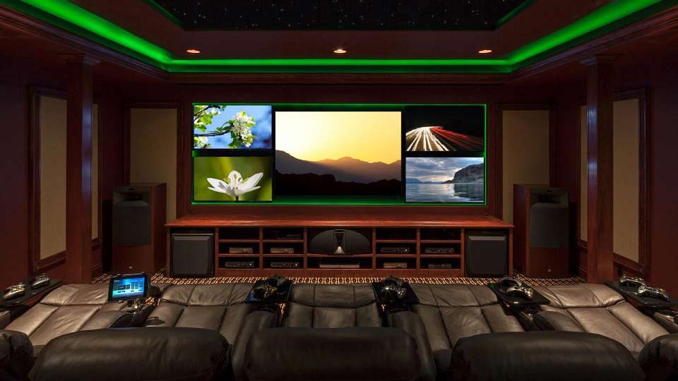 Gaming or movie room