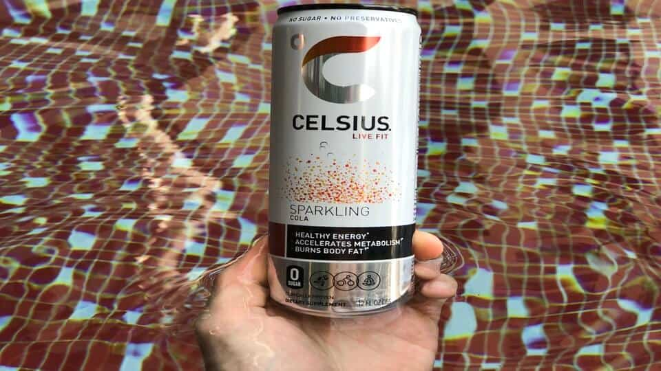 A can of Celsius sparkling cola helps to generate large profits for Celsius holdings.
