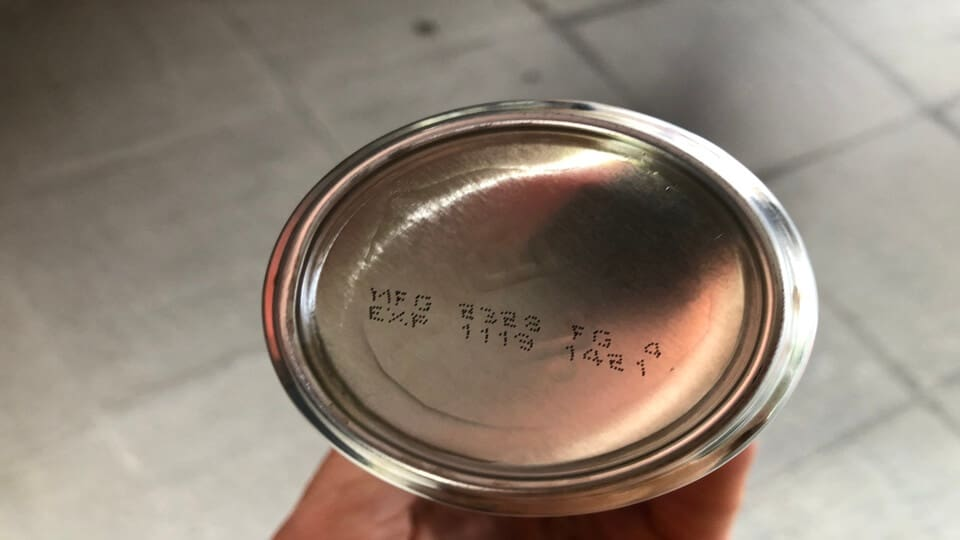 The Celsius drink expiry date is printed on the bottom of the can.