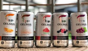 Different flavors of Celsius energy drink
