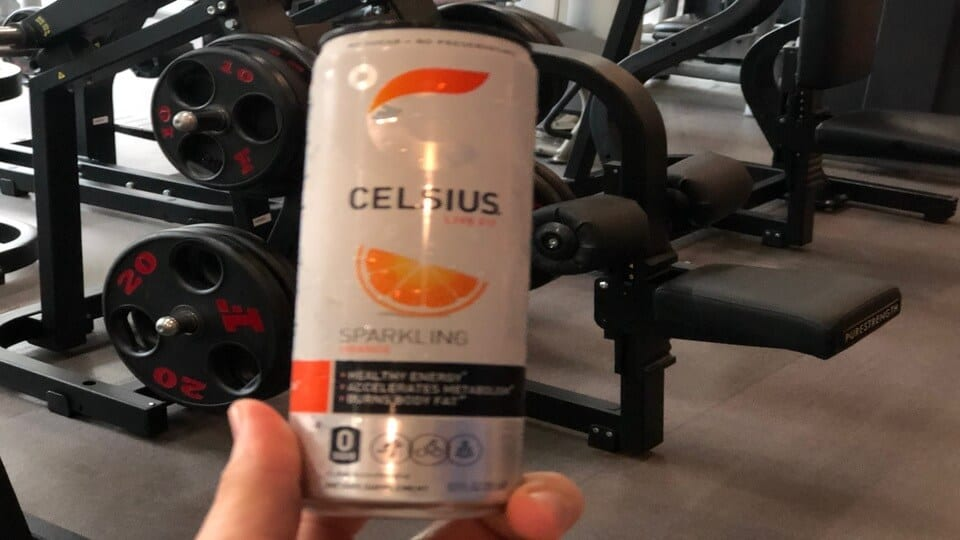 Celsius energy drink targets the health conscious