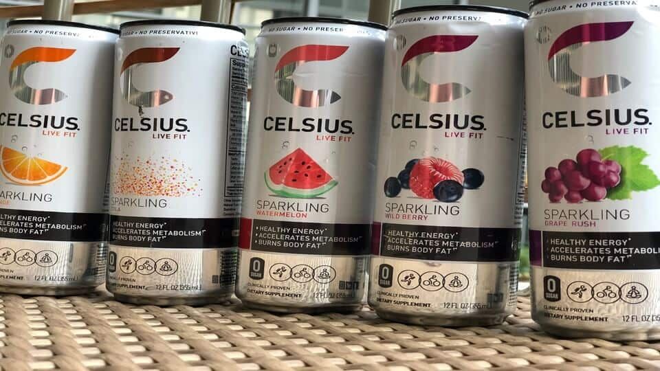 Celsius originals energy drink flavors