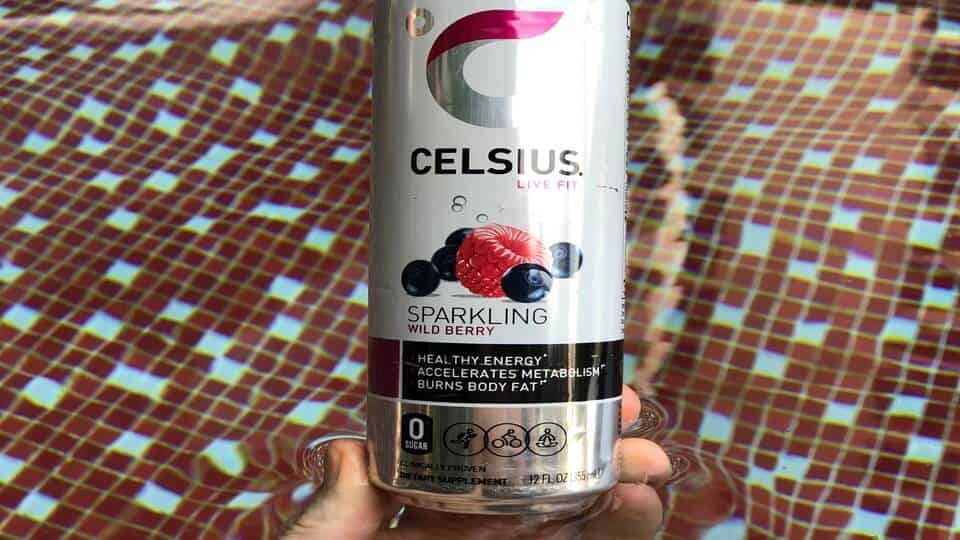 "Celsius wild berry is part of their ""originals"" range of drinks"