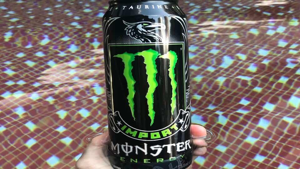 Monster Import energy drink caffeine content