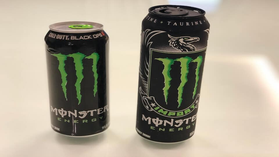 Monster Import compared to Monster original