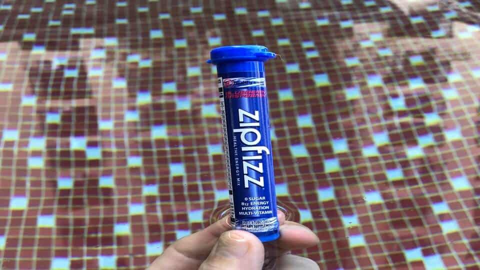 Zipfizz review of blueberry raspberry flavor