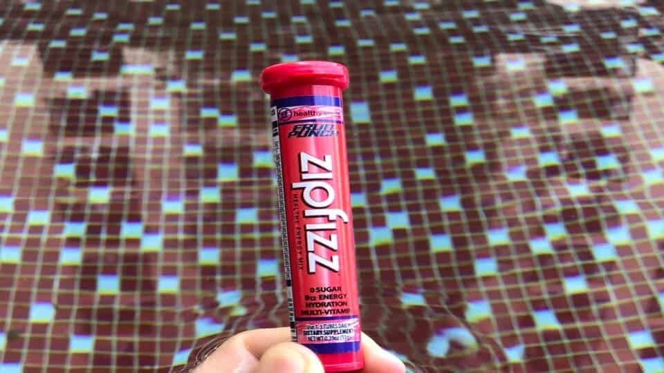Zipfizz fruit punch flavor energy drink