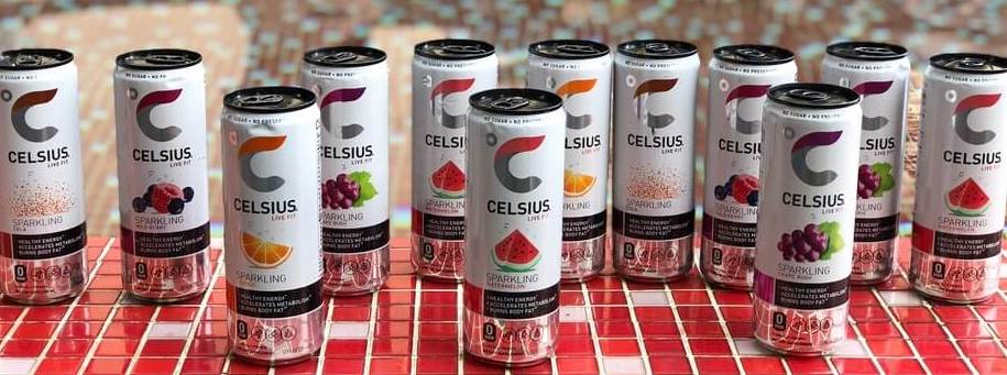 "Celsius energy drink ""Originals"" flavors."