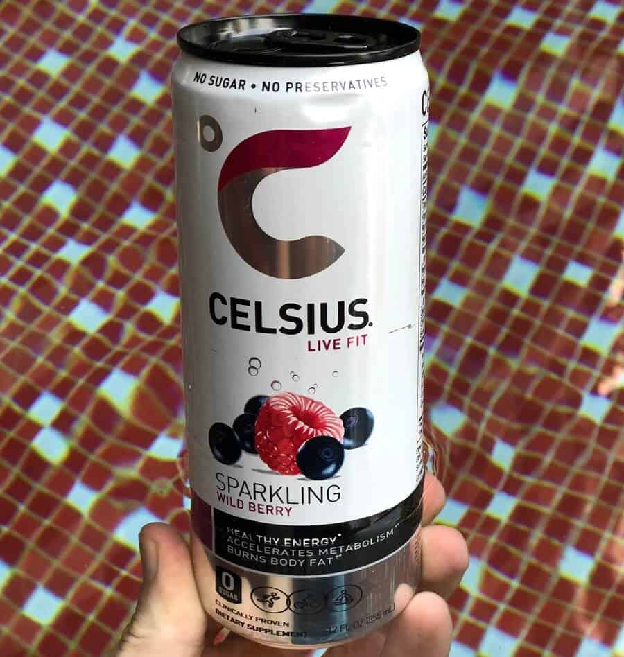 Celsius drinks taste good