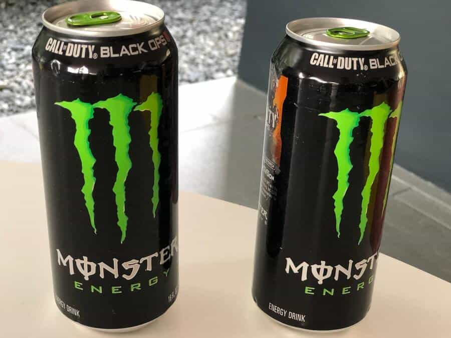 Monster energy drink is the 2nd biggest energy drink in USA by market share.
