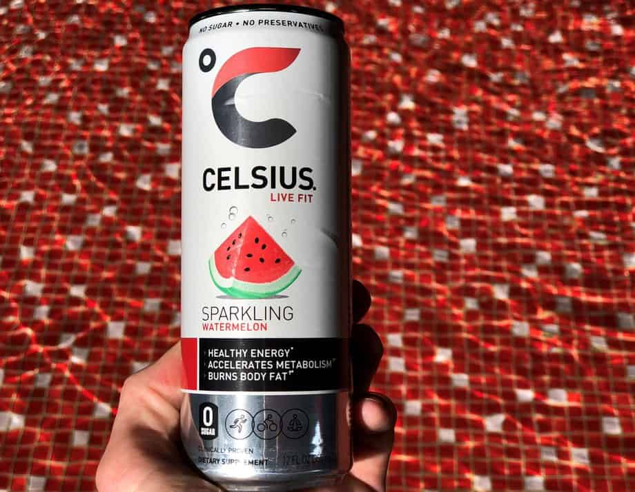 Celsius energy drink healthiest energy drink