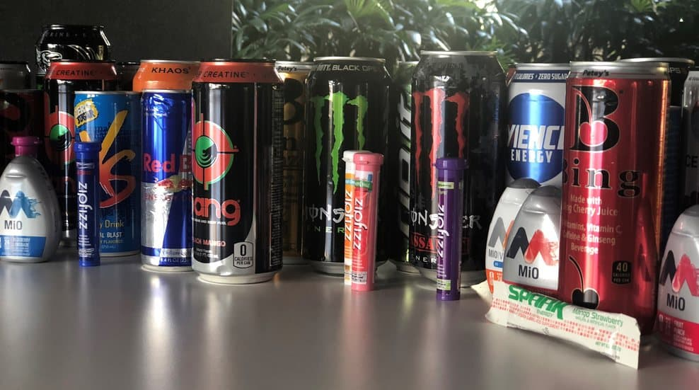 energy drinks effects on teenagers cans multiple brand of energy drink