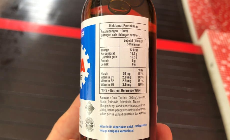 Livita nutritional facts , livita energy drink caffeine and ingredients