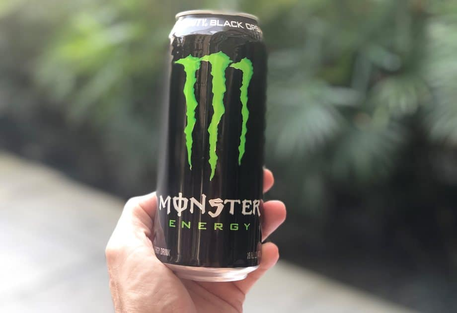 Monster energy ranked 8th best gaming energy drink