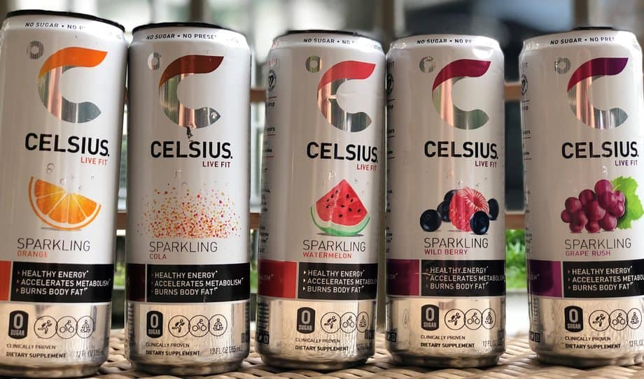 Where to buy celsius energy drinks ,Celsius energy drinks four all lined up