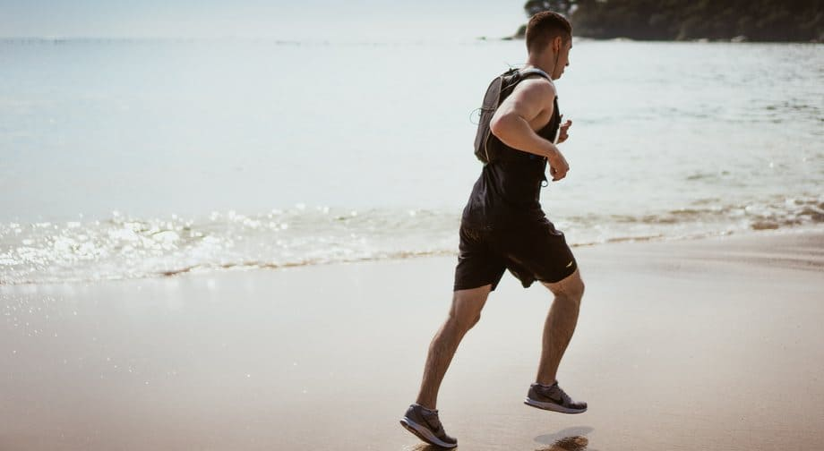 jogging and exercising can help improve energy levels and quit caffeine