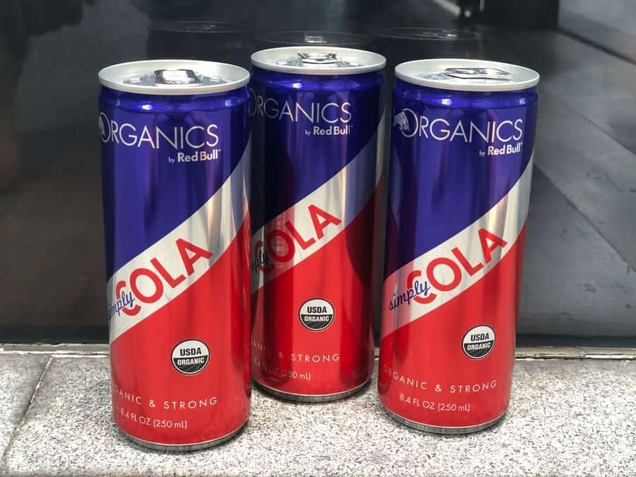 Red Bull Cola competes with Coca-Cola