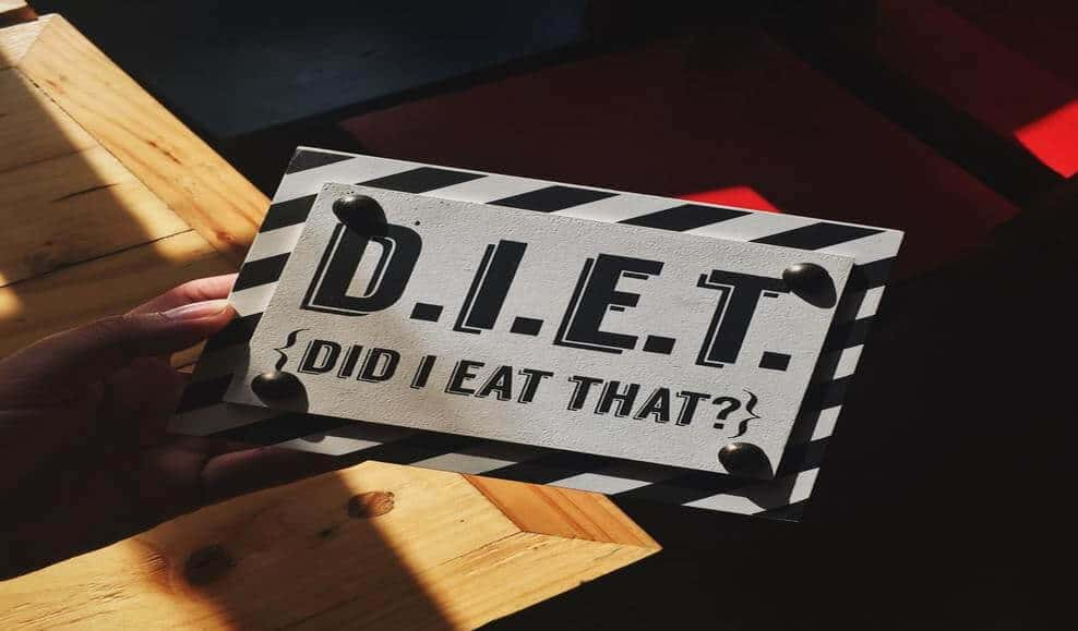 diet (did i eat that) sign