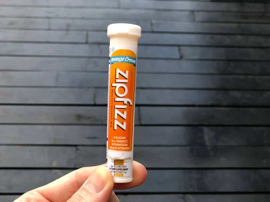 Zipfizz orange cream isn't very bad for you