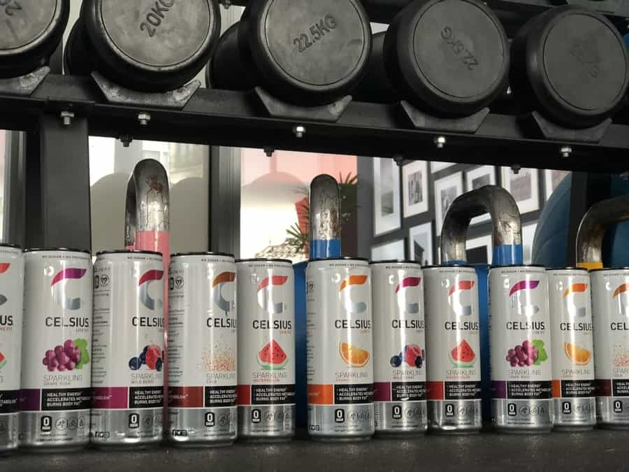 Celsius Energy drinks with multiple favors to choose from.