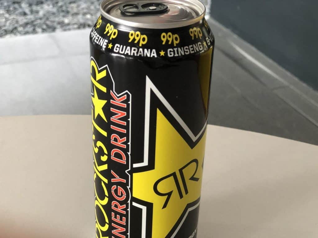 A picture of Rockstar Energy Drink