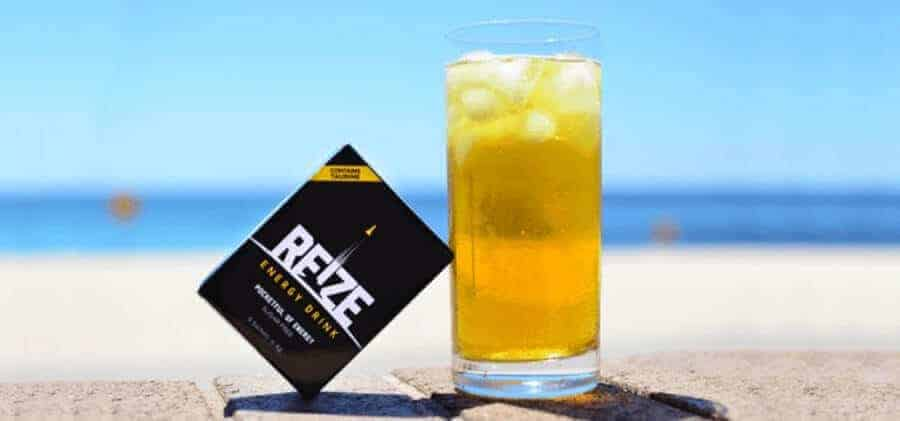 REIZE energy drink and sachet