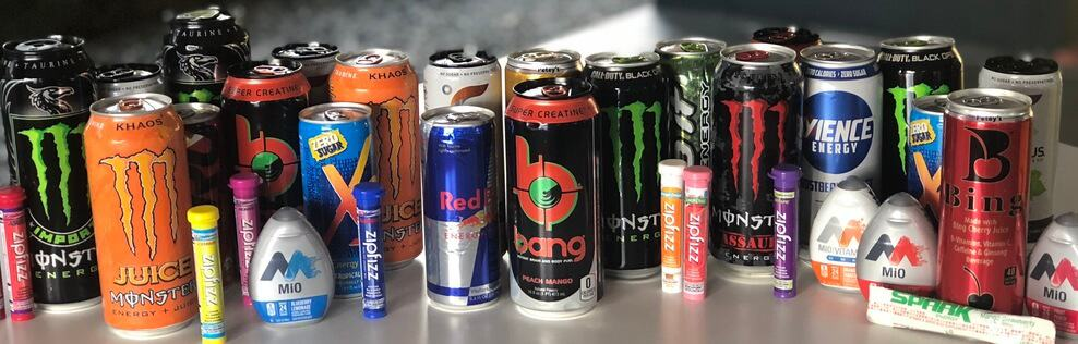 Some of the best energy drinks for morning side by side