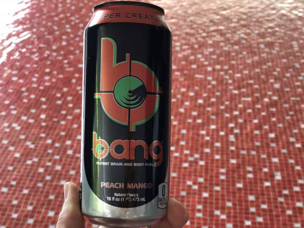 A can of Bang Energy Drink
