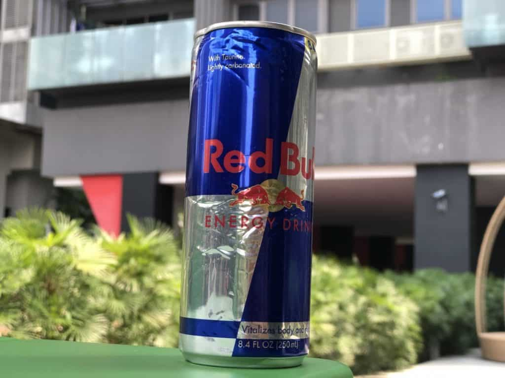 A picture of Red Bull Energy Drink.
