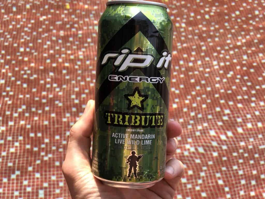 A can of Rip It Energy Drink.