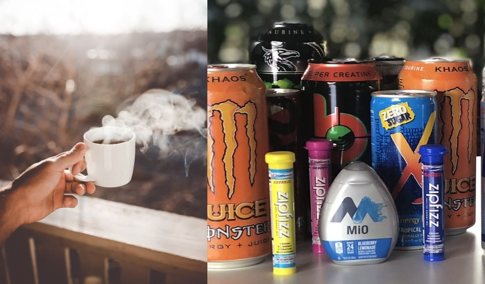 Energy Drinks vs Coffee (differences and benefits)