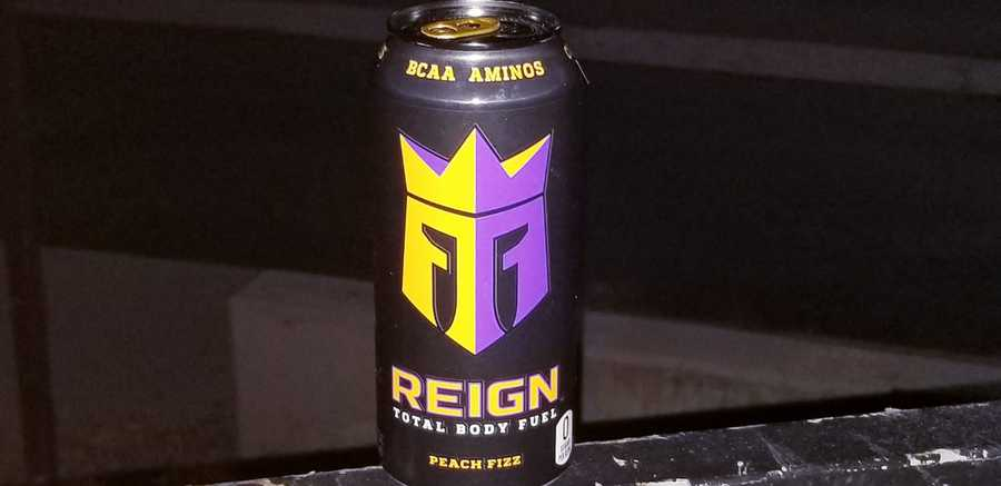 The Reign can says that it contains BCAA Aminos.