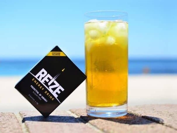 REIZE is the best energy drink to have after a workout
