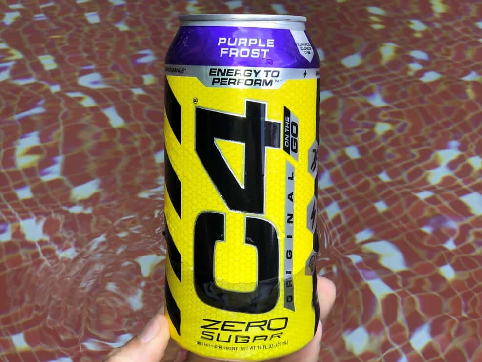 C4 Energy Drink Caffeine and Ingredients (Details)