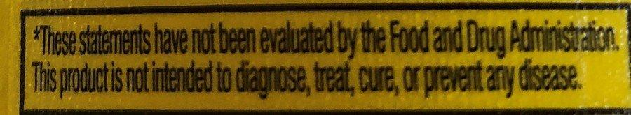 C4 Energy Drink Statement Advisory