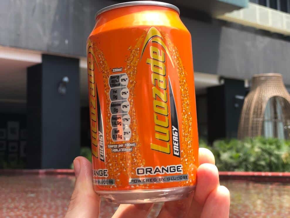 Lucozade Caffeine & Ingredients (all the info)