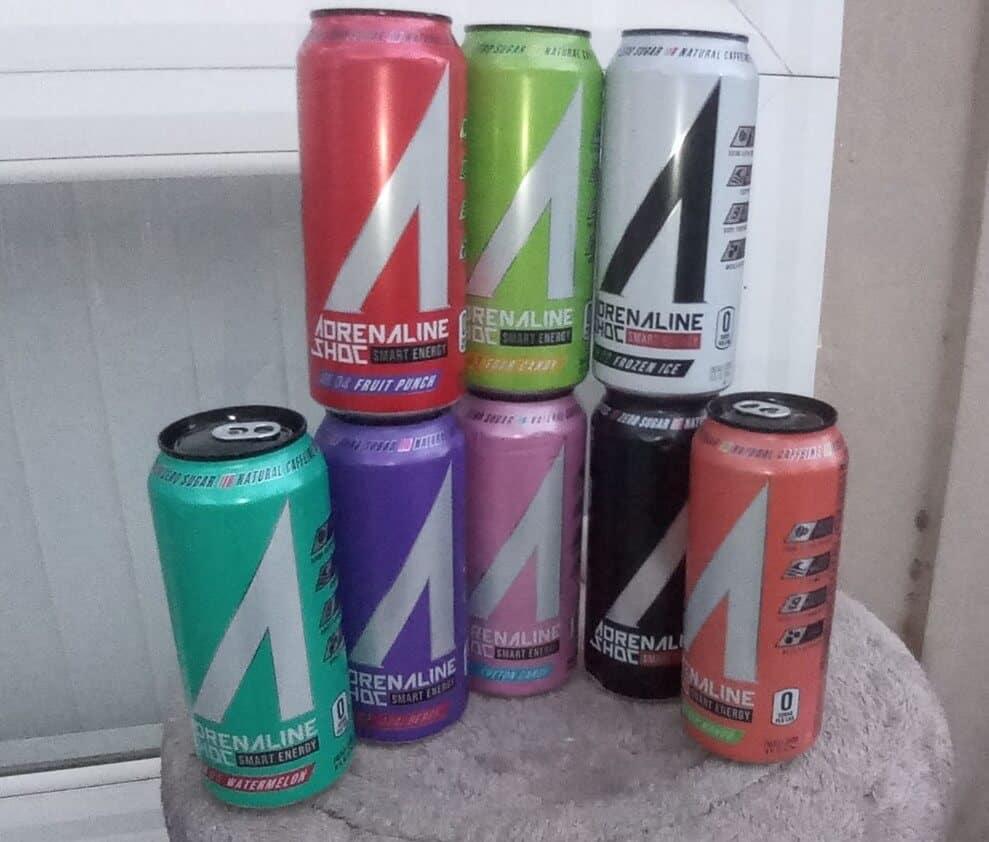 Adrenaline Shoc Caffeine & Ingredients (Complete)