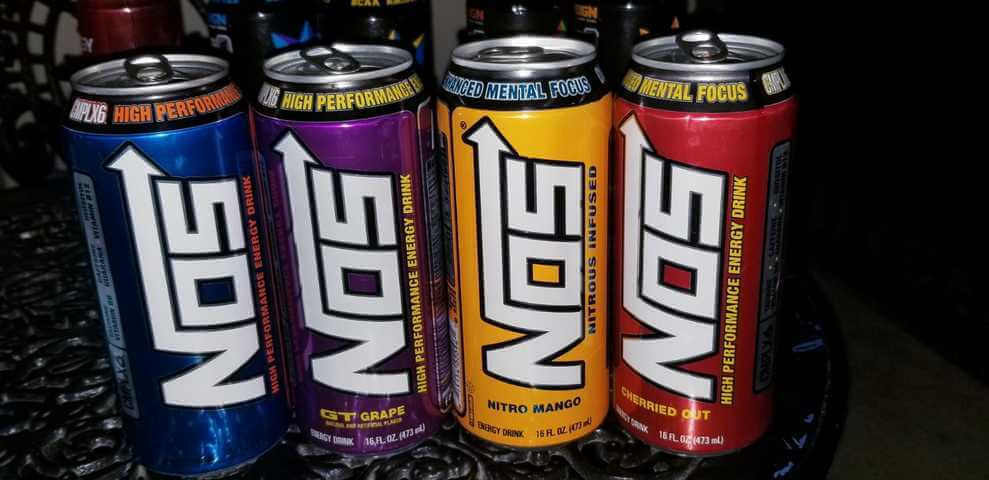 NOS Energy Caffeine & Ingredients (Full Details)