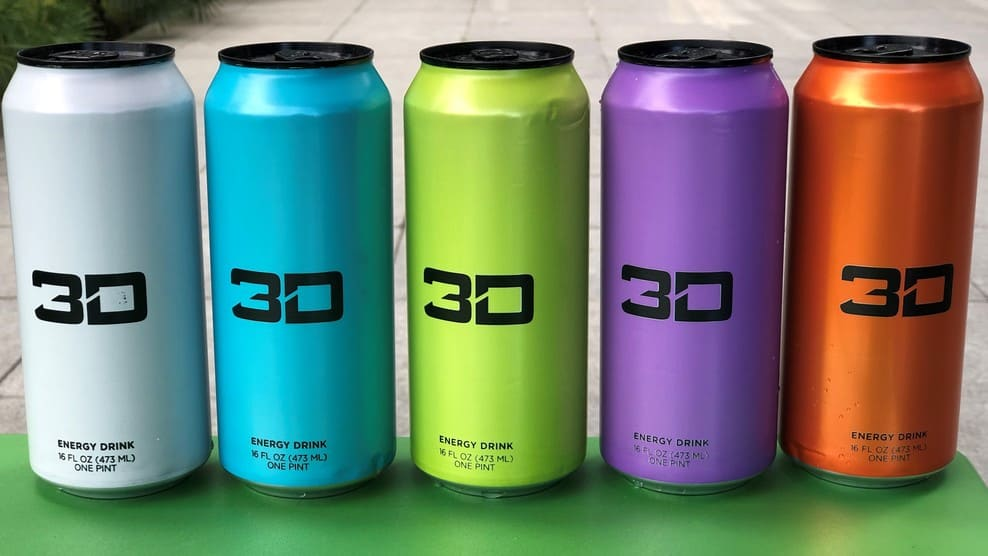 3D Energy Drink Nutrition Facts (Deep Dive)