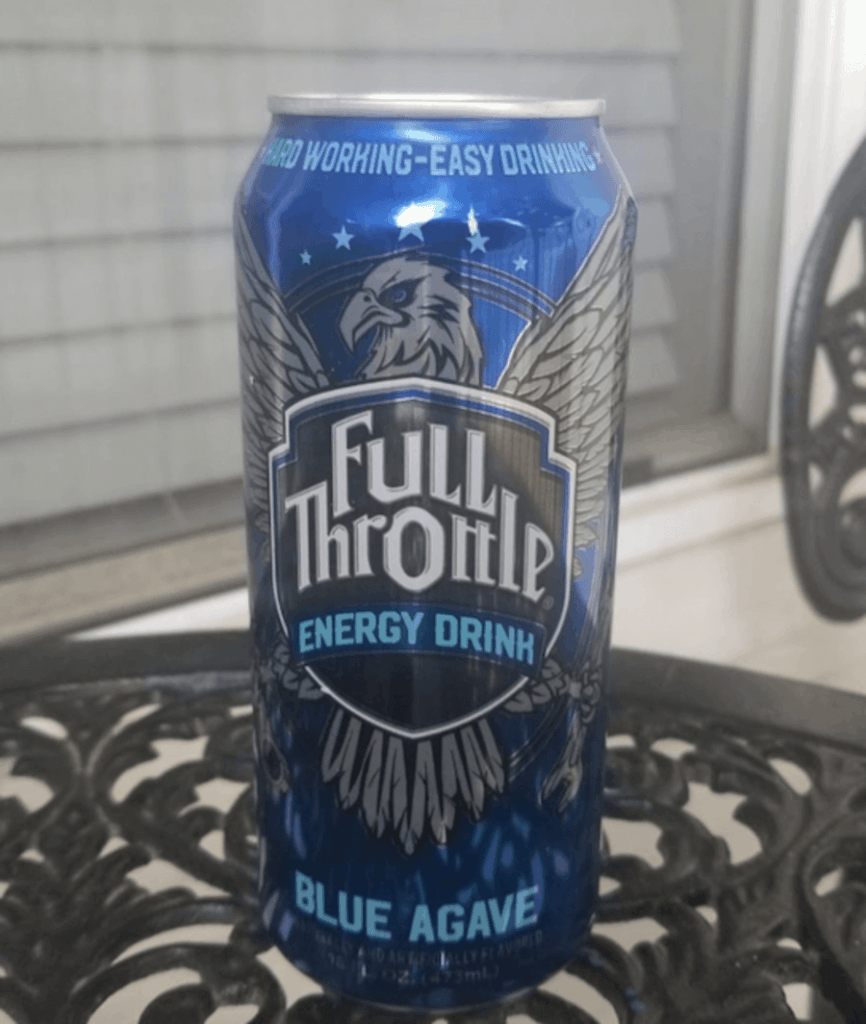 A can of Full Throttle energy drink