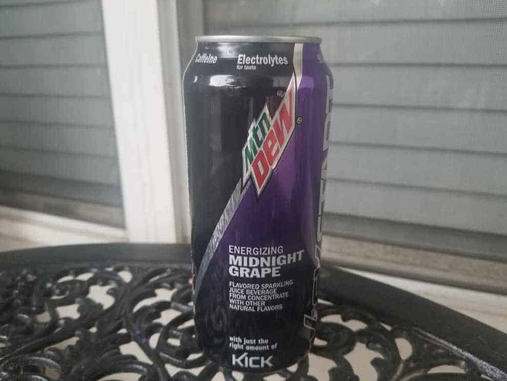 Mountain Dew Kickstart Caffeine & Ingredients