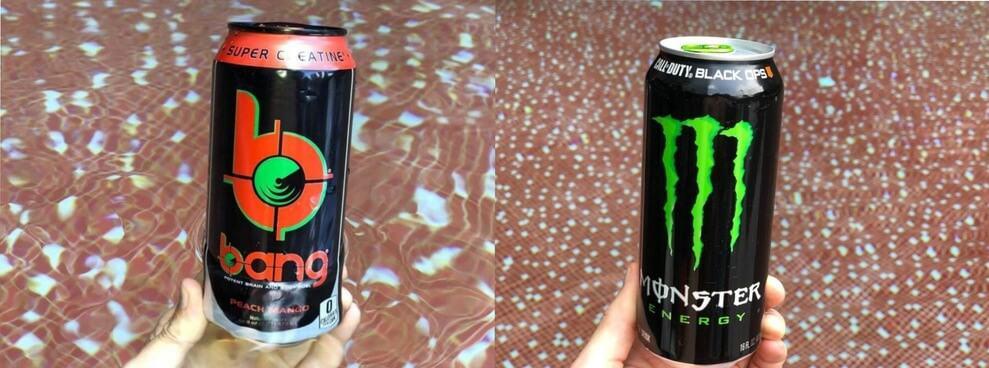 Bang Energy VS Monster Energy – COMPARISON
