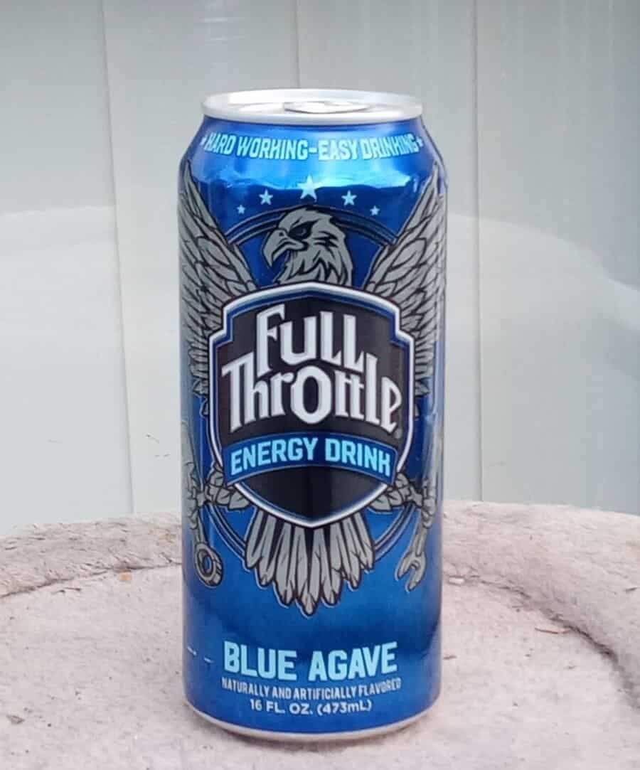 A can of Full Throttle energy drink.