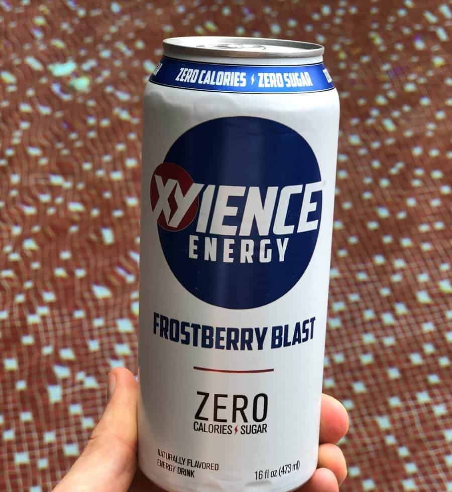 A can of Xyience energy drink.