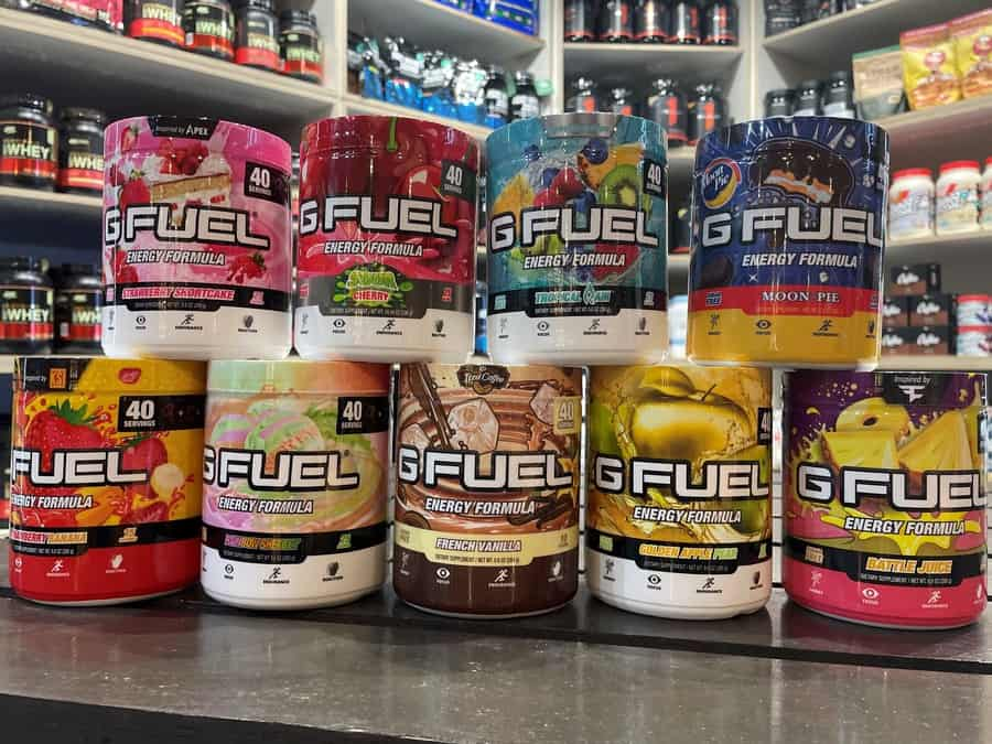 Multiple Flavors of G Fuel