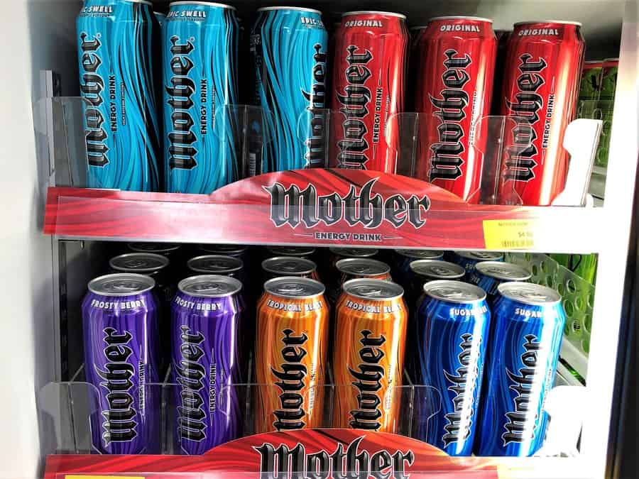 Mother Energy Drink Flavours